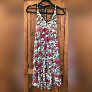 Cosabella Made in Italy Print Halter Dress NWT